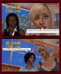 美国十次拉-女》一章我第1部分- 成人动漫系列