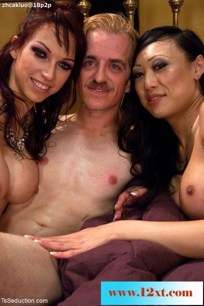 TSSeduction――女王妮姬、美妖维纳斯和乍得先生玩
