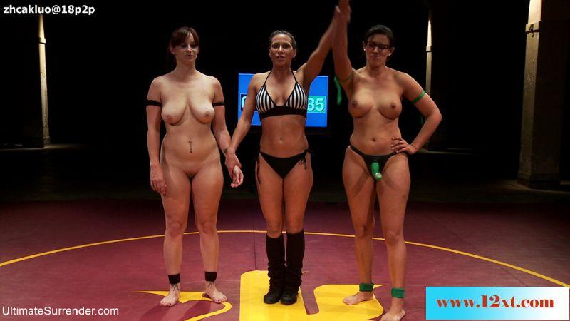 UltimateSurrender——女子裸体摔跤之两个大奶骚屄间