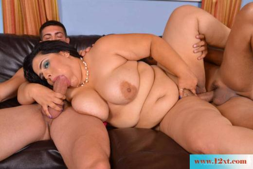 Mom giving blowjob to best friend